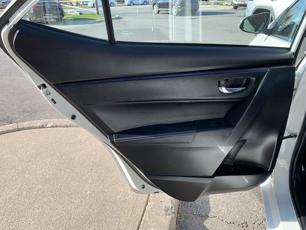 White 2017 Toyota Corolla Left Side Rear Seat  Photo in Brampton ON