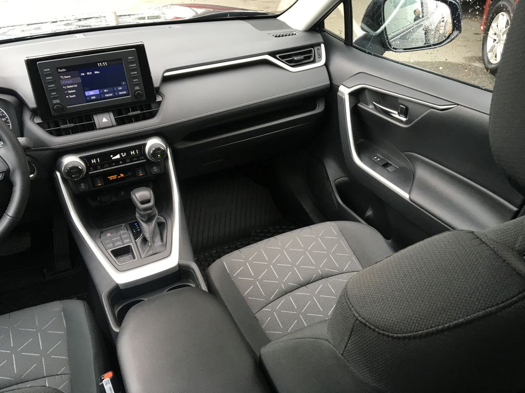Blue[Blueprint] 2021 Toyota RAV4 XLE Right Side Front Seat  Photo in Kelowna BC
