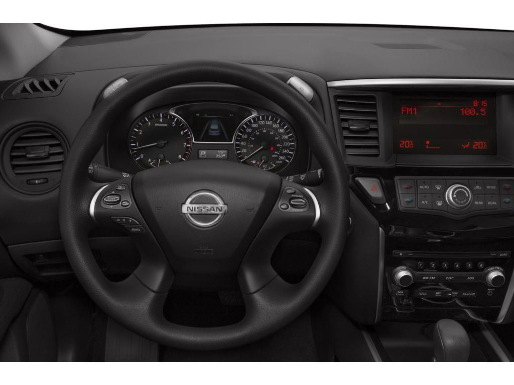 Black[Super Black] 2014 Nissan Pathfinder Left Front Interior Door Panel Photo in Okotoks AB