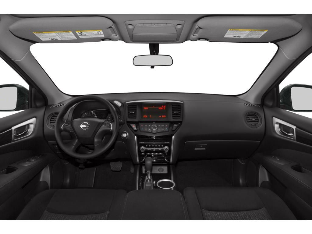 Black[Super Black] 2014 Nissan Pathfinder Driver's Side Door Controls Photo in Okotoks AB