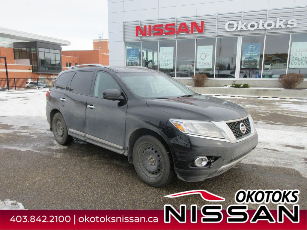 Black[Super Black] 2014 Nissan Pathfinder