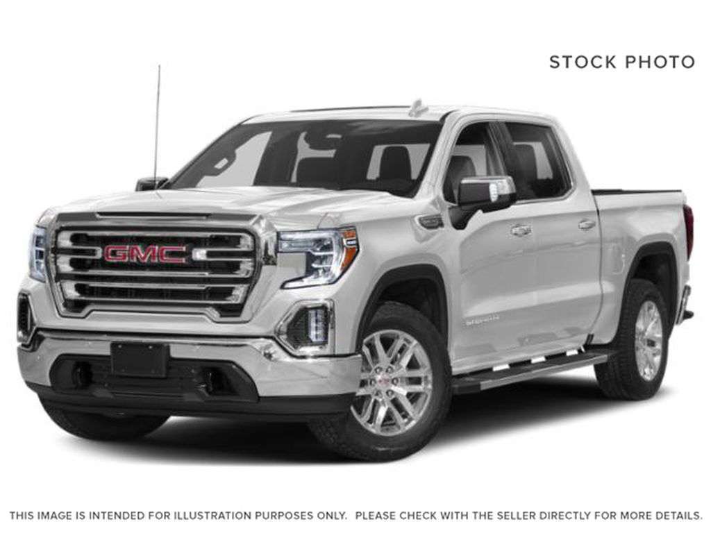 White[Summit White] 2020 GMC Sierra 1500