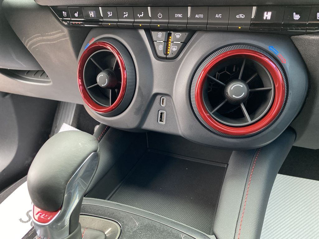 Red[Red Hot] 2021 Chevrolet Blazer Charge Ports/Pads (If applicable) in Nipawin SK