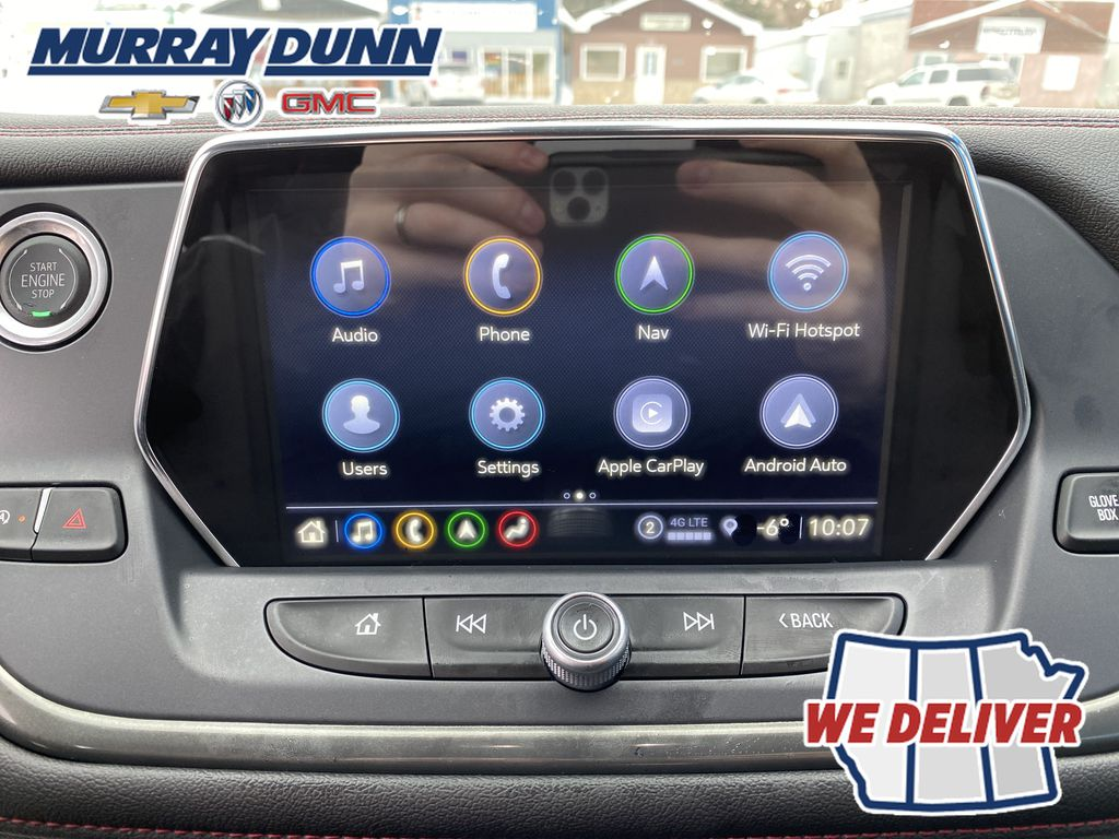 Red[Red Hot] 2021 Chevrolet Blazer Central Dash Options Photo in Nipawin SK