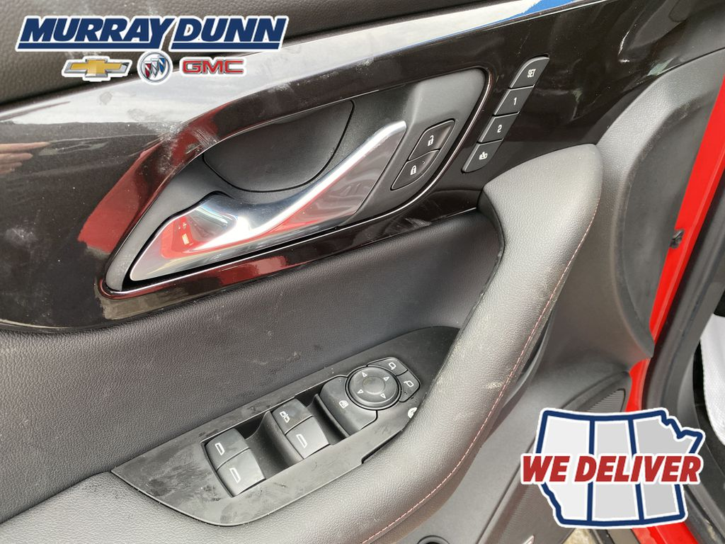 Red[Red Hot] 2021 Chevrolet Blazer  Driver's Side Door Controls Photo in Nipawin SK