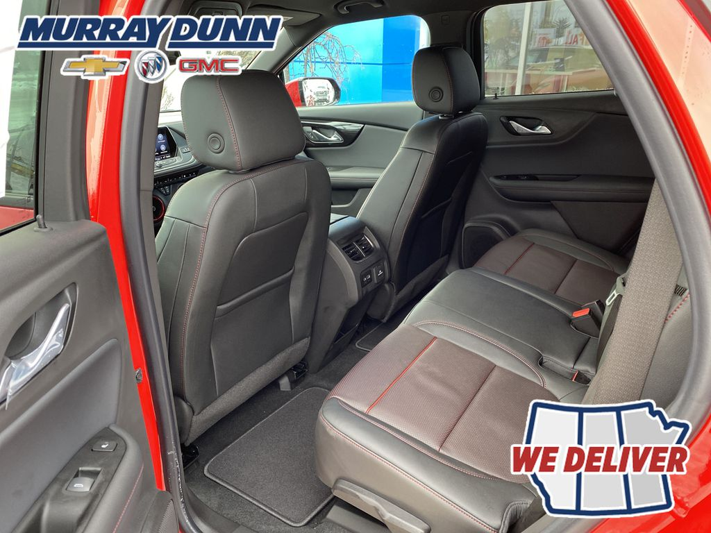 Red[Red Hot] 2021 Chevrolet Blazer Third Row Seat Photo in Nipawin SK