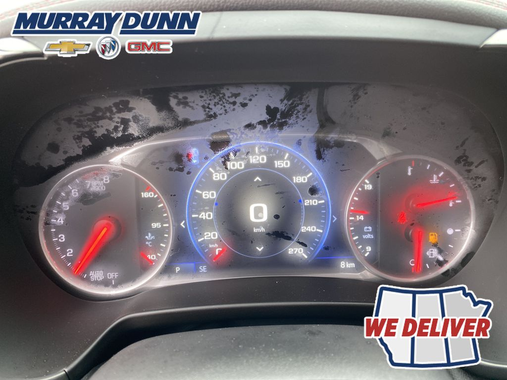 Red[Red Hot] 2021 Chevrolet Blazer Odometer Photo in Nipawin SK