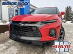 Red[Red Hot] 2021 Chevrolet Blazer LF Corner and Fog Lights (Low) in Nipawin SK
