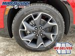 Red[Red Hot] 2021 Chevrolet Blazer Left Front Rim and Tire Photo in Nipawin SK