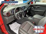Red[Red Hot] 2021 Chevrolet Blazer Left Front Interior Photo in Nipawin SK
