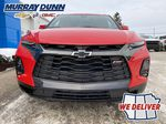 Red[Red Hot] 2021 Chevrolet Blazer Front Vehicle Photo (Low) in Nipawin SK