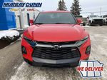 Red[Red Hot] 2021 Chevrolet Blazer Front Vehicle Photo in Nipawin SK