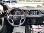 Red[Red Hot] 2021 Chevrolet Blazer Steering Wheel and Dash Photo in Nipawin SK