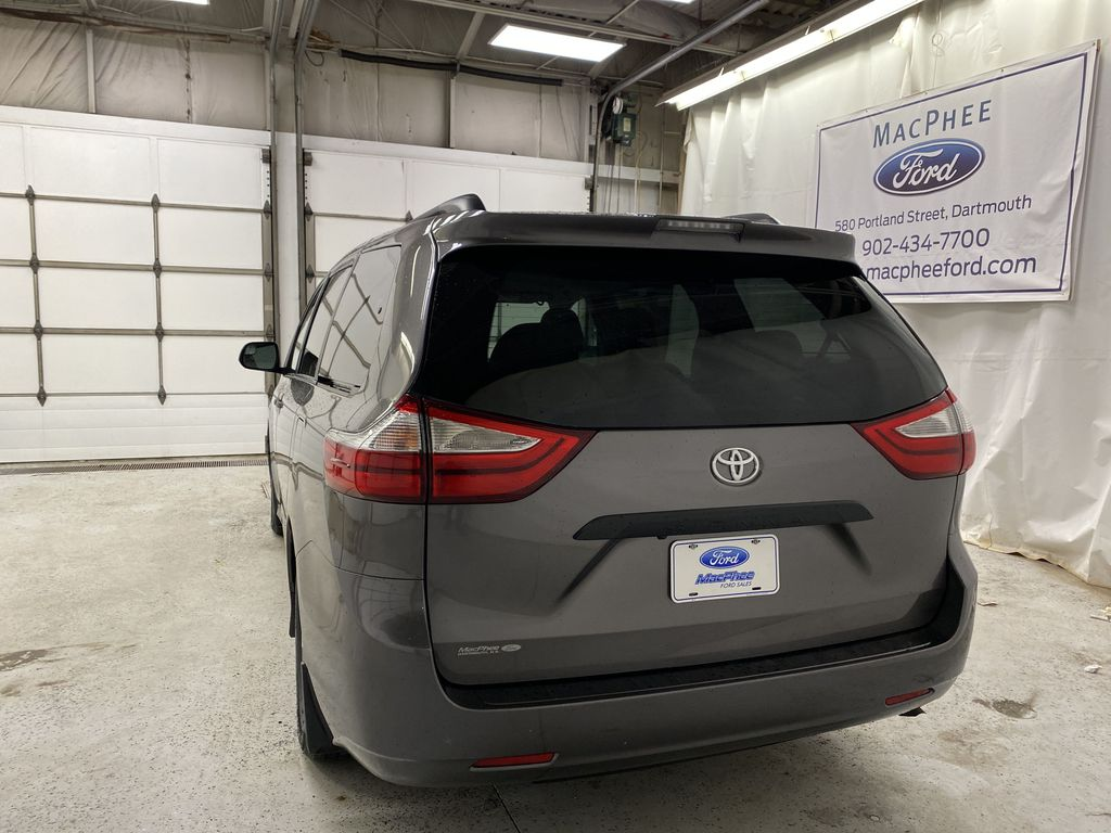 MAGNETIC 2018 Toyota Sienna Rear of Vehicle Photo in Dartmouth NS