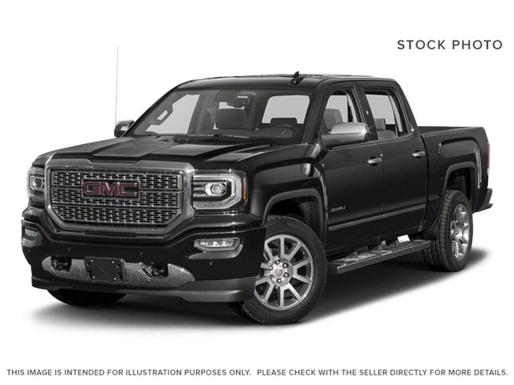 Black 2018 GMC Sierra 1500