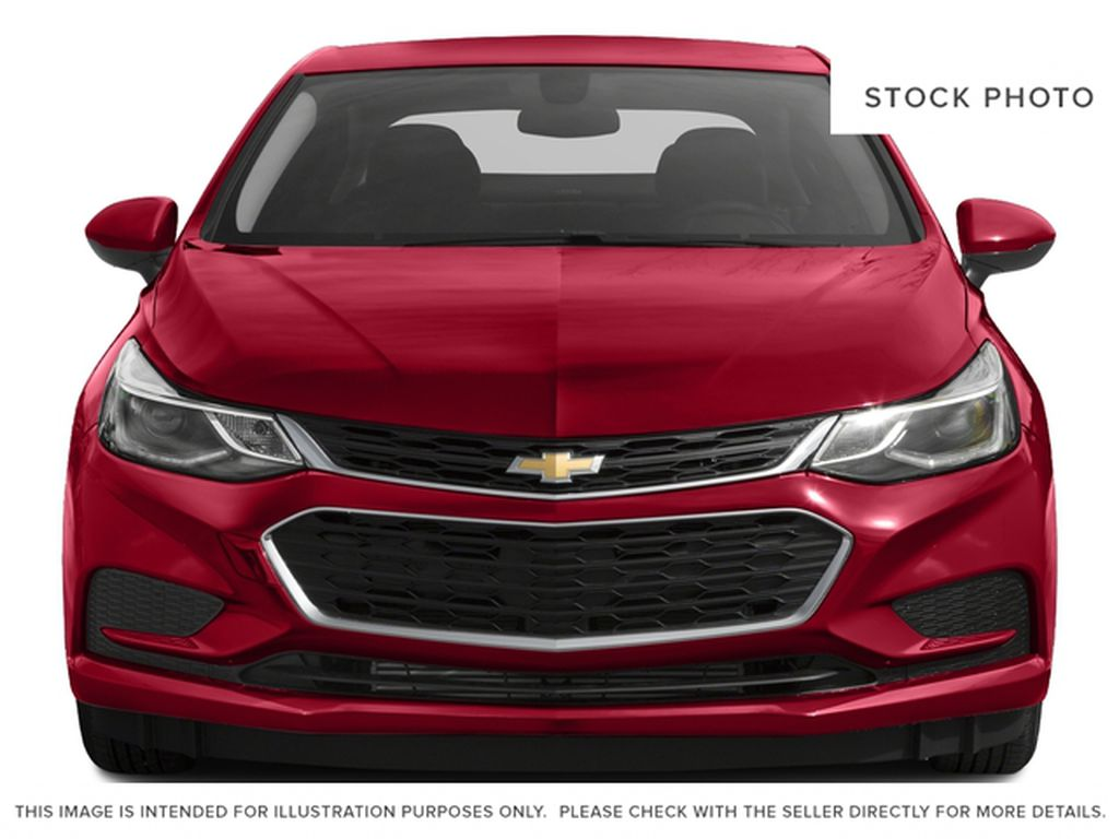 Blue 2018 Chevrolet Cruze Front Vehicle Photo in Medicine Hat AB