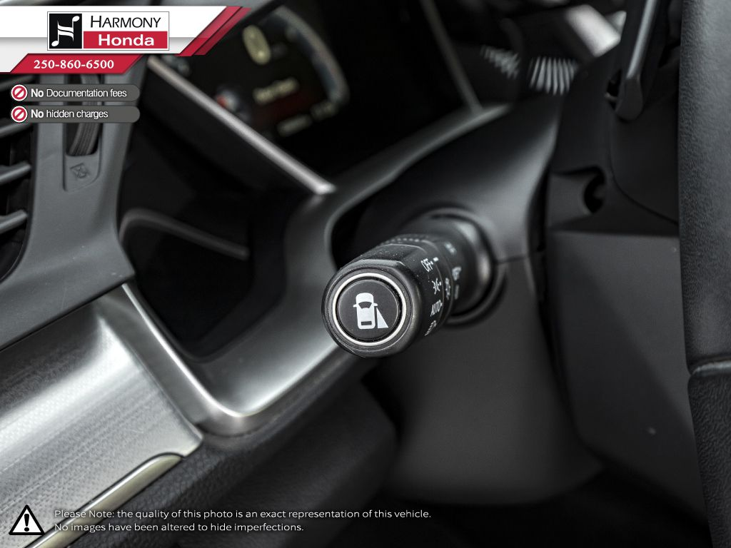 Gray[Modern Steel Metallic] 2017 Honda Civic Coupe Right Side Front Seat  Photo in Kelowna BC