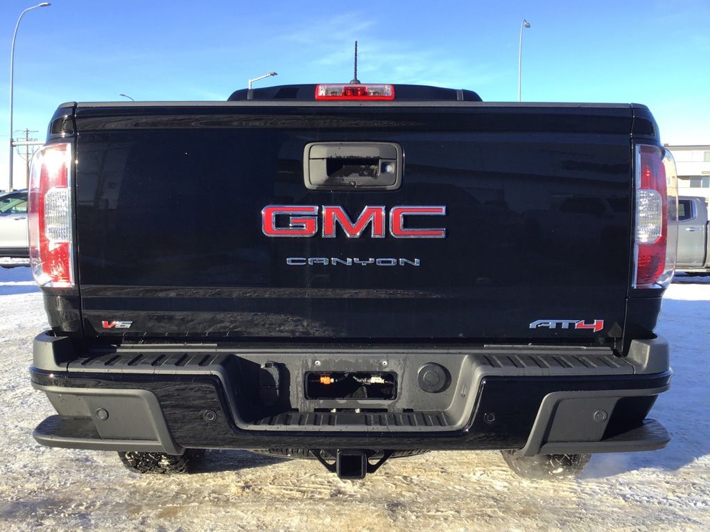 Black 2021 GMC Canyon Left Front Interior Door Panel Photo in Brooks AB