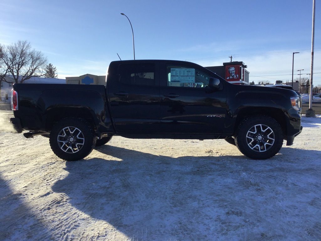 Black 2021 GMC Canyon Left Front Interior Photo in Brooks AB