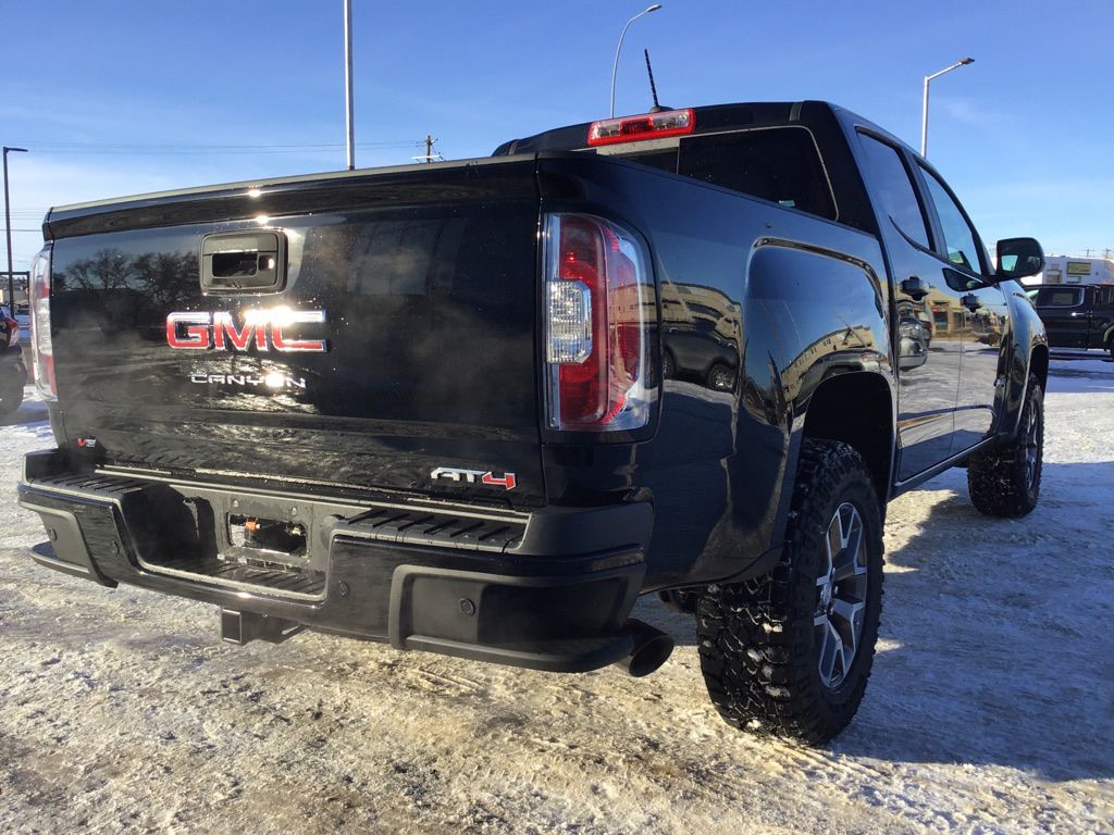 Black 2021 GMC Canyon Driver's Side Door Controls Photo in Brooks AB