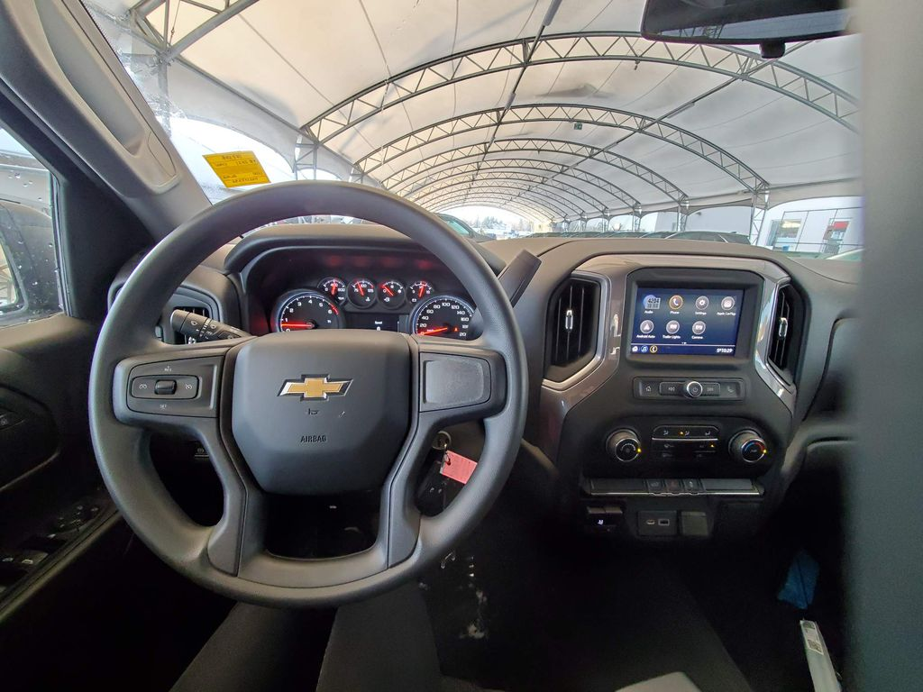 Black 2021 Chevrolet Silverado 1500 Front Vehicle Photo in Airdrie AB