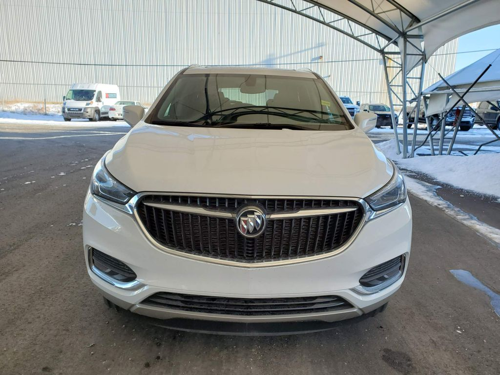 White 2020 Buick Enclave Left Front Corner Photo in Airdrie AB