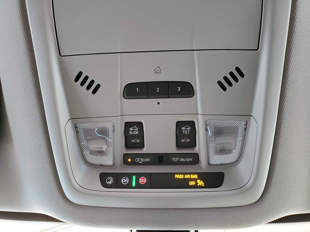 White 2020 Buick Enclave Steering Wheel and Dash Photo in Airdrie AB