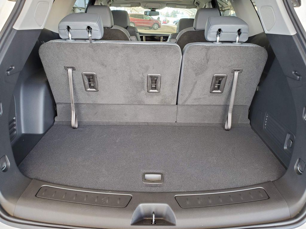 White 2020 Buick Enclave Right Rear Interior Door Panel Photo in Airdrie AB