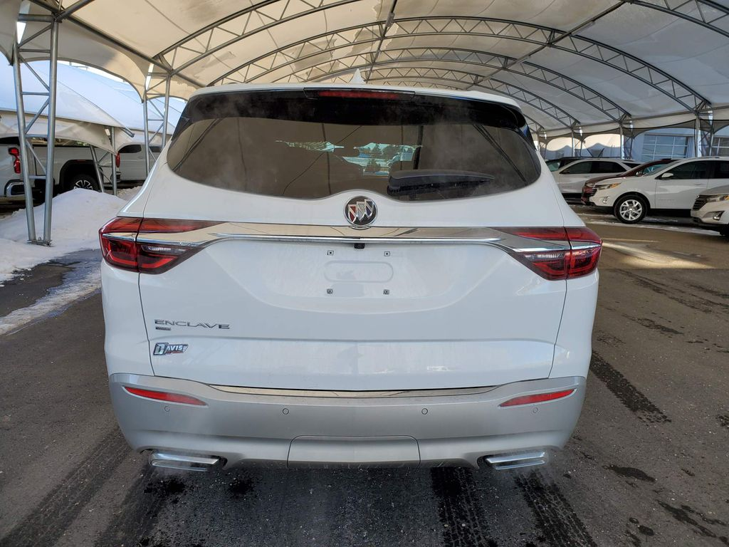 White 2020 Buick Enclave Trunk / Cargo Area Photo in Airdrie AB