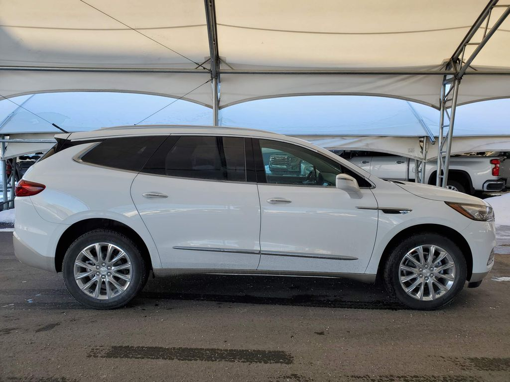White 2020 Buick Enclave Right Front Interior Door Panel Photo in Airdrie AB