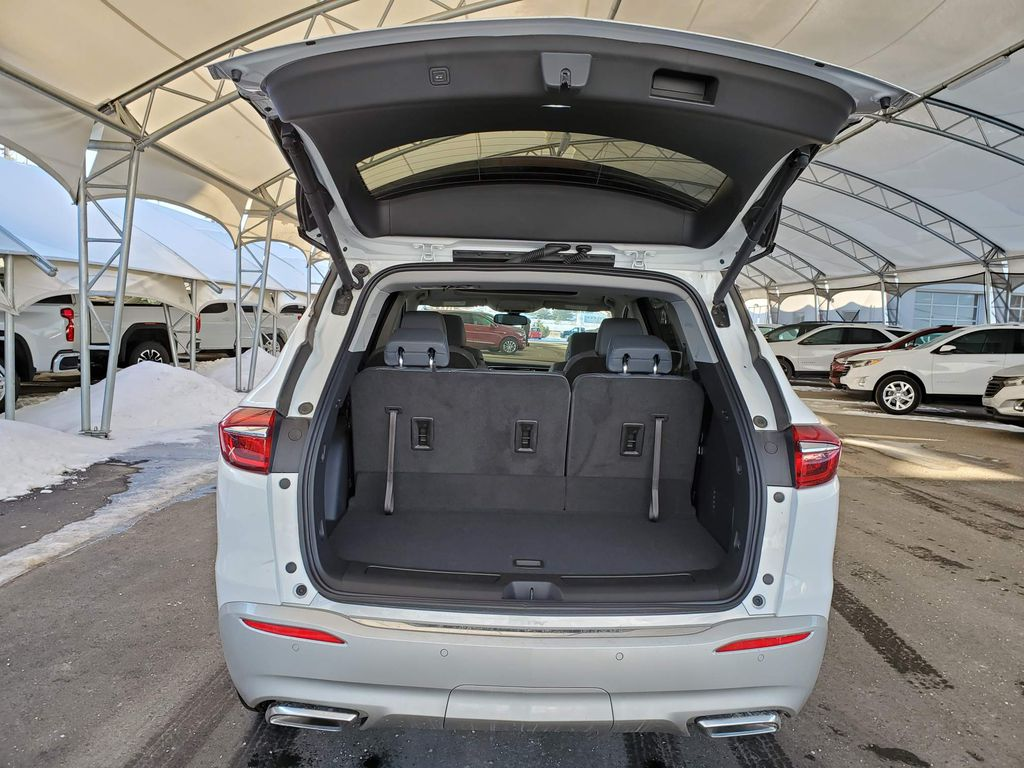 White 2020 Buick Enclave Right Rear Corner Photo in Airdrie AB