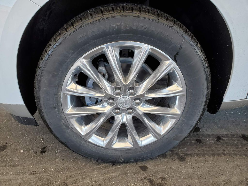 White 2020 Buick Enclave Backup Camera Closeup Photo in Airdrie AB