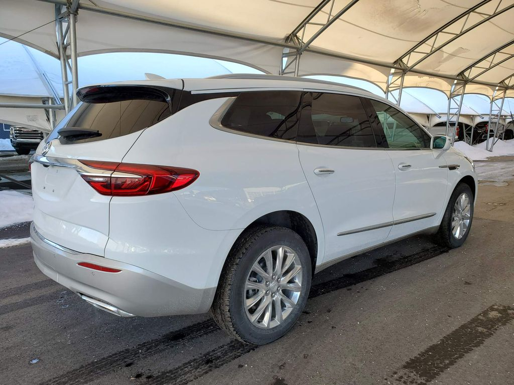 White 2020 Buick Enclave Right Side Rear Seat  Photo in Airdrie AB