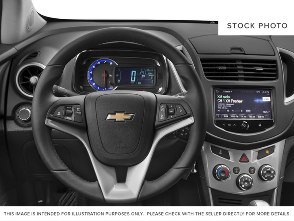 2016 Chevrolet Trax Steering Wheel and Dash Photo in Barrhead AB