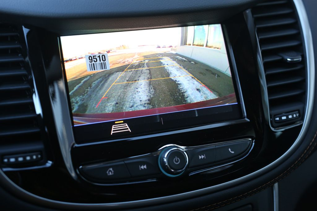 Grey 2021 Chevrolet Trax Center Console Photo in Barrhead AB