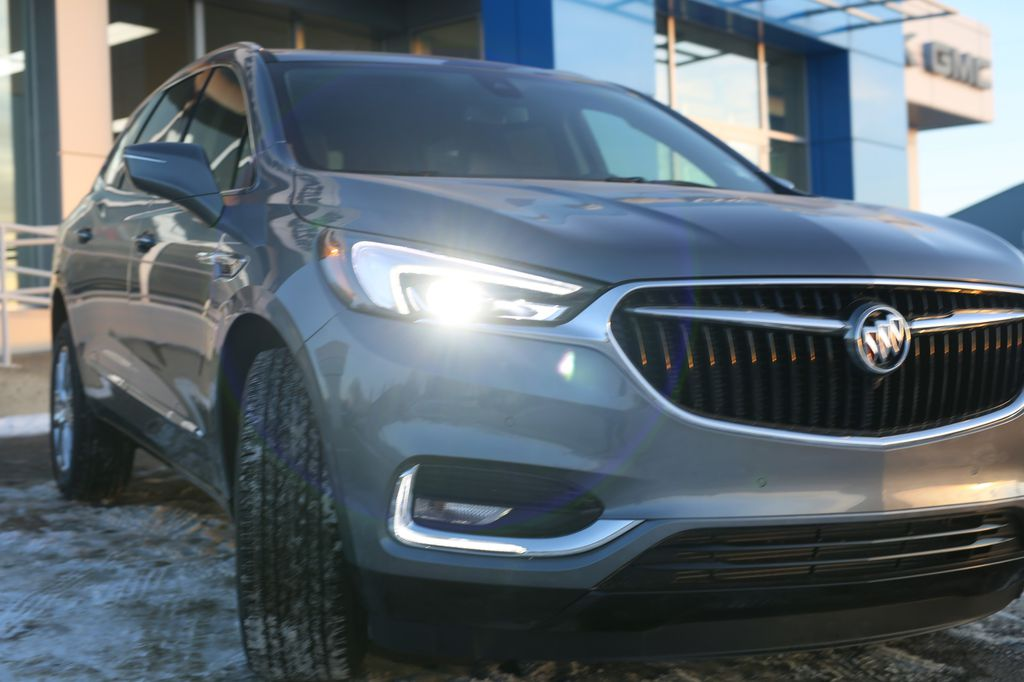 Dark Grey 2021 Buick Enclave Front Vehicle Photo in Barrhead AB