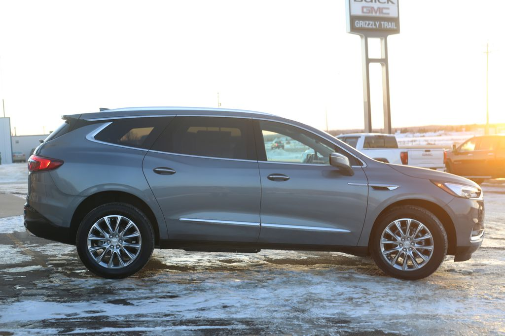Dark Grey 2021 Buick Enclave Left Front Head Light / Bumper and Grill in Barrhead AB