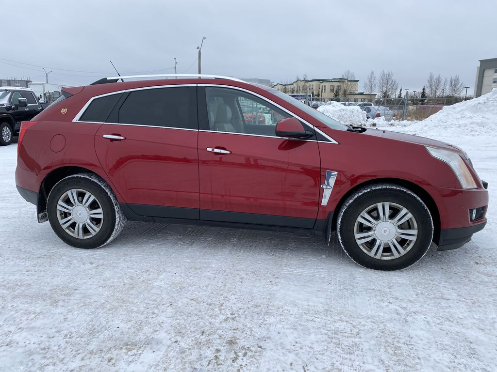Red[Crystal Red Tintcoat] 2011 Cadillac SRX Right Side Photo in Edmonton AB