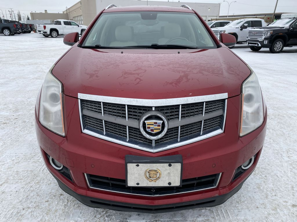 Red[Crystal Red Tintcoat] 2011 Cadillac SRX Front Vehicle Photo in Edmonton AB
