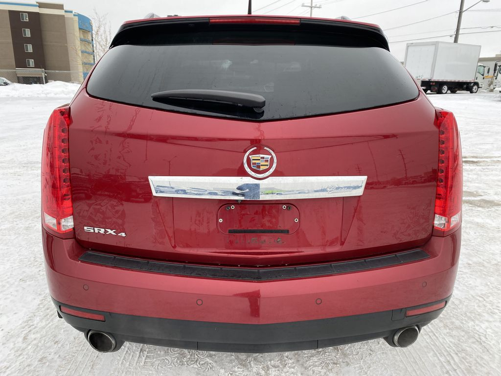 Red[Crystal Red Tintcoat] 2011 Cadillac SRX Rear of Vehicle Photo in Edmonton AB