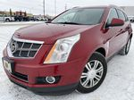 Red[Crystal Red Tintcoat] 2011 Cadillac SRX Left Front Corner Photo in Edmonton AB