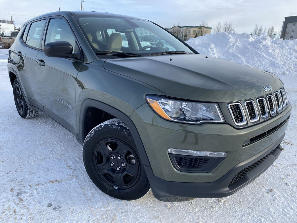 Green[Olive Green Pearl] 2019 Jeep Compass