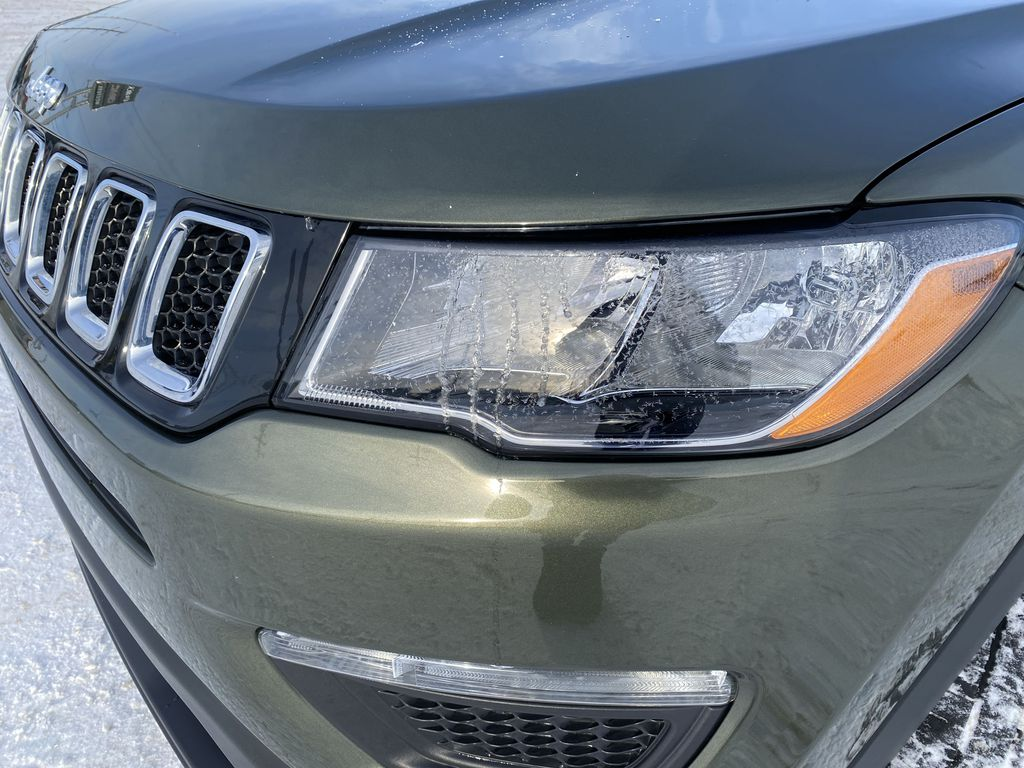 Green[Olive Green Pearl] 2019 Jeep Compass Left Front Head Light / Bumper and Grill in Edmonton AB