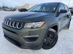 Green[Olive Green Pearl] 2019 Jeep Compass Left Front Corner Photo in Edmonton AB