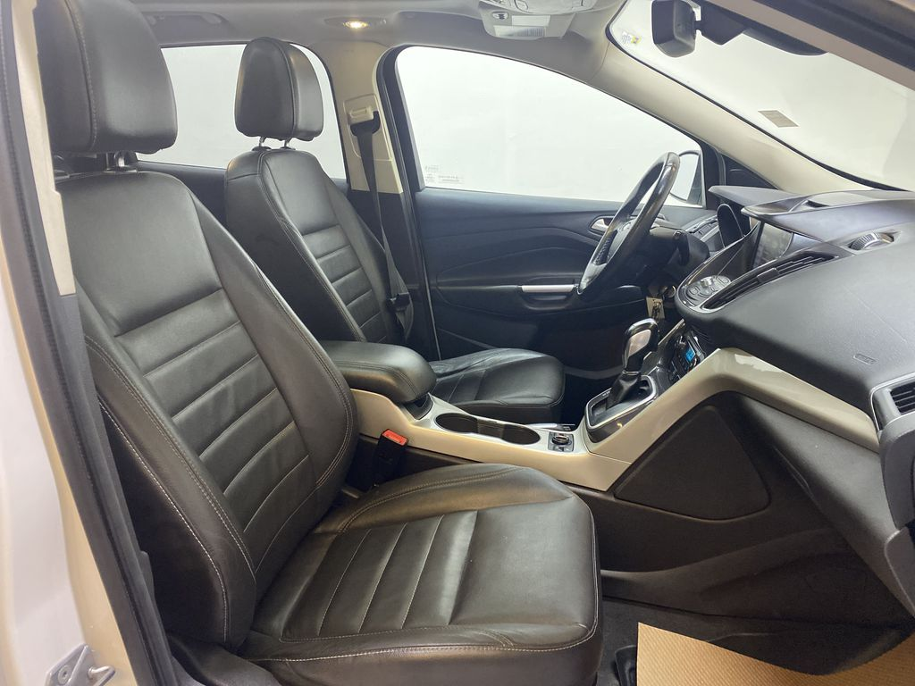 WHITE 2013 Ford Escape Right Side Front Seat  Photo in Edmonton AB