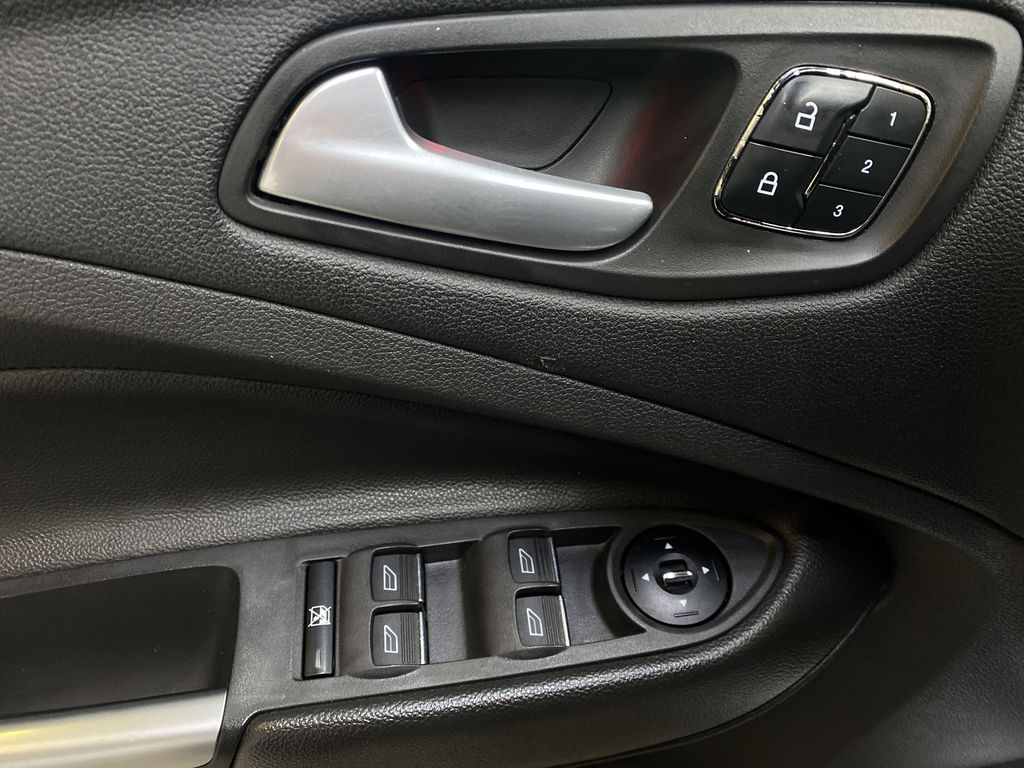 WHITE 2013 Ford Escape  Driver's Side Door Controls Photo in Edmonton AB