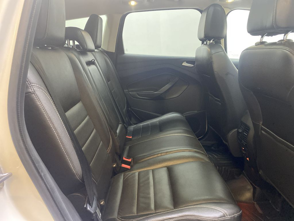 WHITE 2013 Ford Escape Right Side Rear Seat  Photo in Edmonton AB