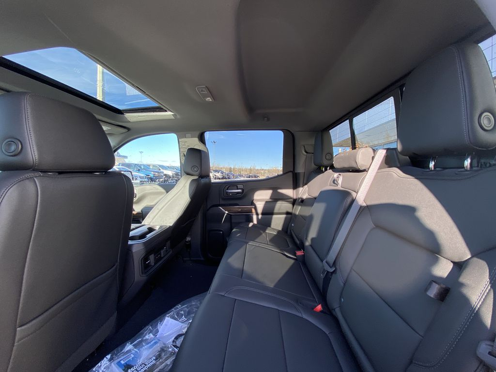 White[Summit White] 2021 Chevrolet Silverado 1500 LT Trail Boss Left Side Rear Seat  Photo in Calgary AB