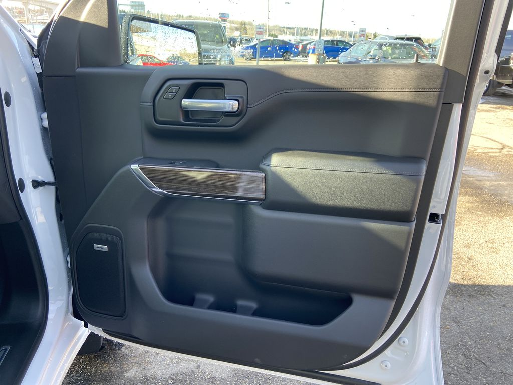 White[Summit White] 2021 Chevrolet Silverado 1500 LT Trail Boss Right Front Interior Door Panel Photo in Calgary AB