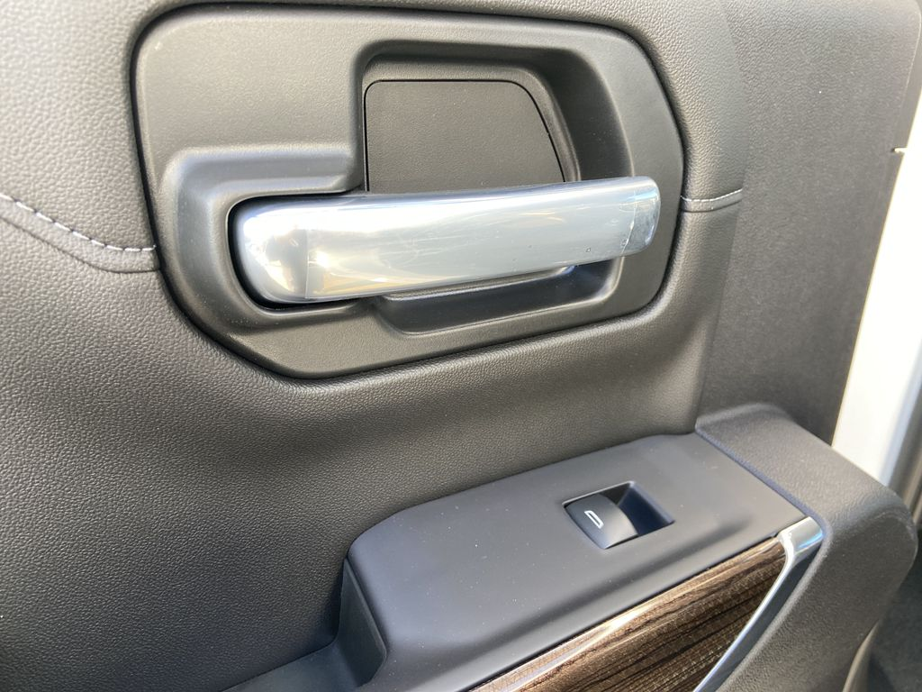 White[Summit White] 2021 Chevrolet Silverado 1500 LT Trail Boss LR Door Panel Ctls Photo in Calgary AB